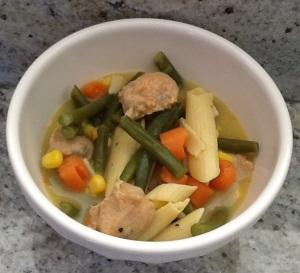 gluten free chicken sausage soup