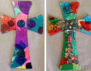 collage crosses