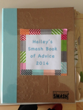 haileys graduation smash book