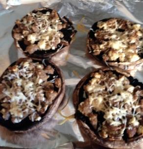 gluten free stuffed portobella mushroom recipe