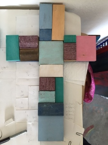 First Grade Wood Piece Auction Crosses