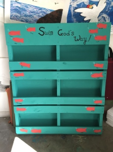 Second Grade Auction Pallet Planter Box