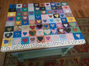 6th grade our hearts auction artwork