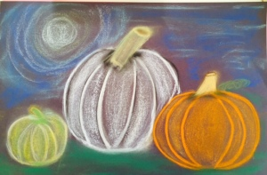 3rd-5th grade fall art lesson
