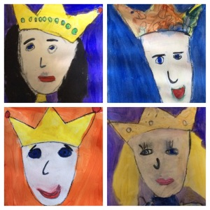 kinder royal portraits