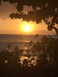 namotu fiji sunset