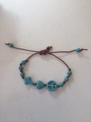 crosspeaceheart bracelet